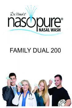 RỬA MŨI XOANG NASOPURE FAMILY DUAL 200