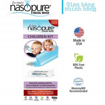 BỘ RỬA MŨI XOANG CAO CẤP NASOPURE/ USA (Children Kit)