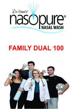 RỬA MŨI XOANG NASOPURE FAMILY DUAL 100