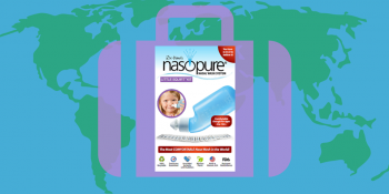 Nasopure điều trị hỗ trợ viêm mũi, viêm xoang