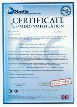 CE - Nasopure được cấp Giấy chứng nhận lưu hành tại Châu Âu