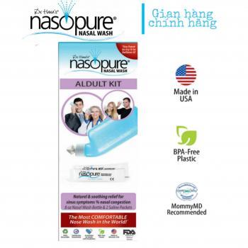 BỘ RỬA MŨI XOANG CAO CẤP NASOPURE/ USA Aldult Kit